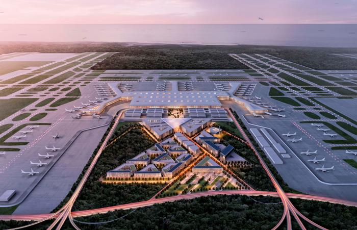 The ne Istanbul grand airport