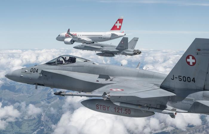 SWISS civil and military aircraft