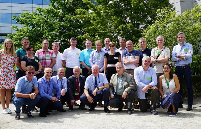 Participants at the 1st FABEC Airspace Management Cell workshop