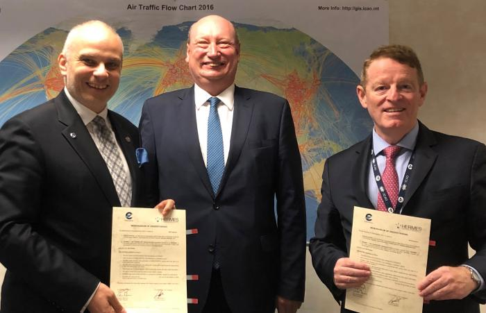 MoU between EUROCONTROL and HERMES
