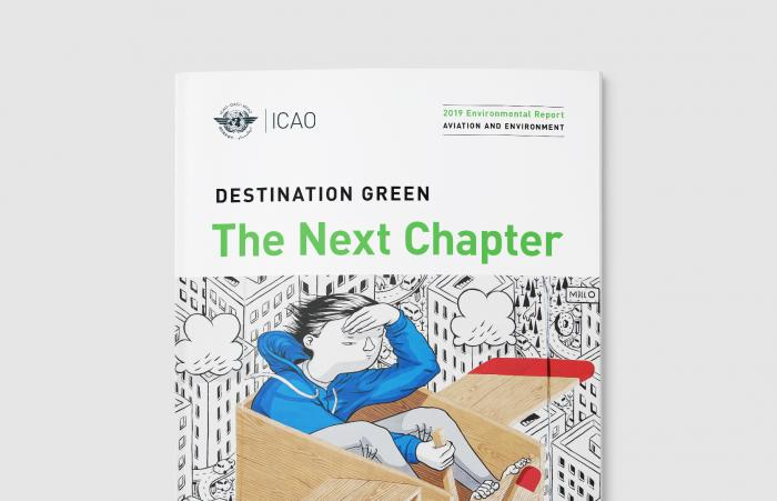 ICAO environment report cover - banner