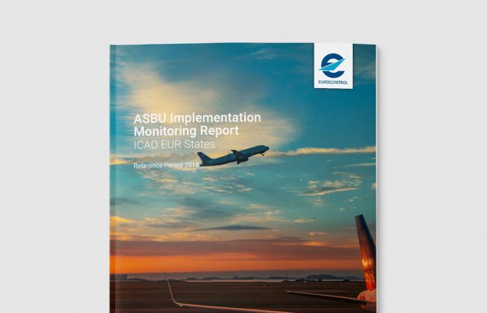 The cover of the ICAO ASBU monitoring report