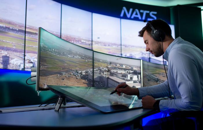 NATS digital tower simulation