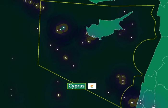 Situation over Cyprus - 06 May 2020 vs 08 May 2019