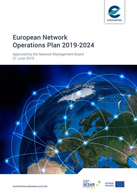 Cover of the European Network Operations Plan 2019 - 2024 Version 2.1