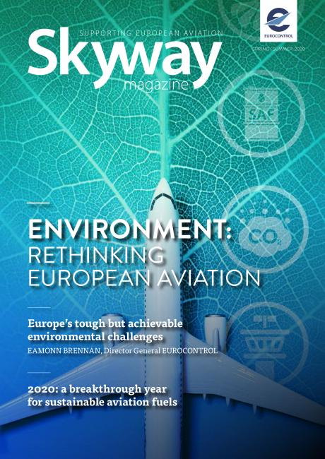The cover of Skyway issue 72